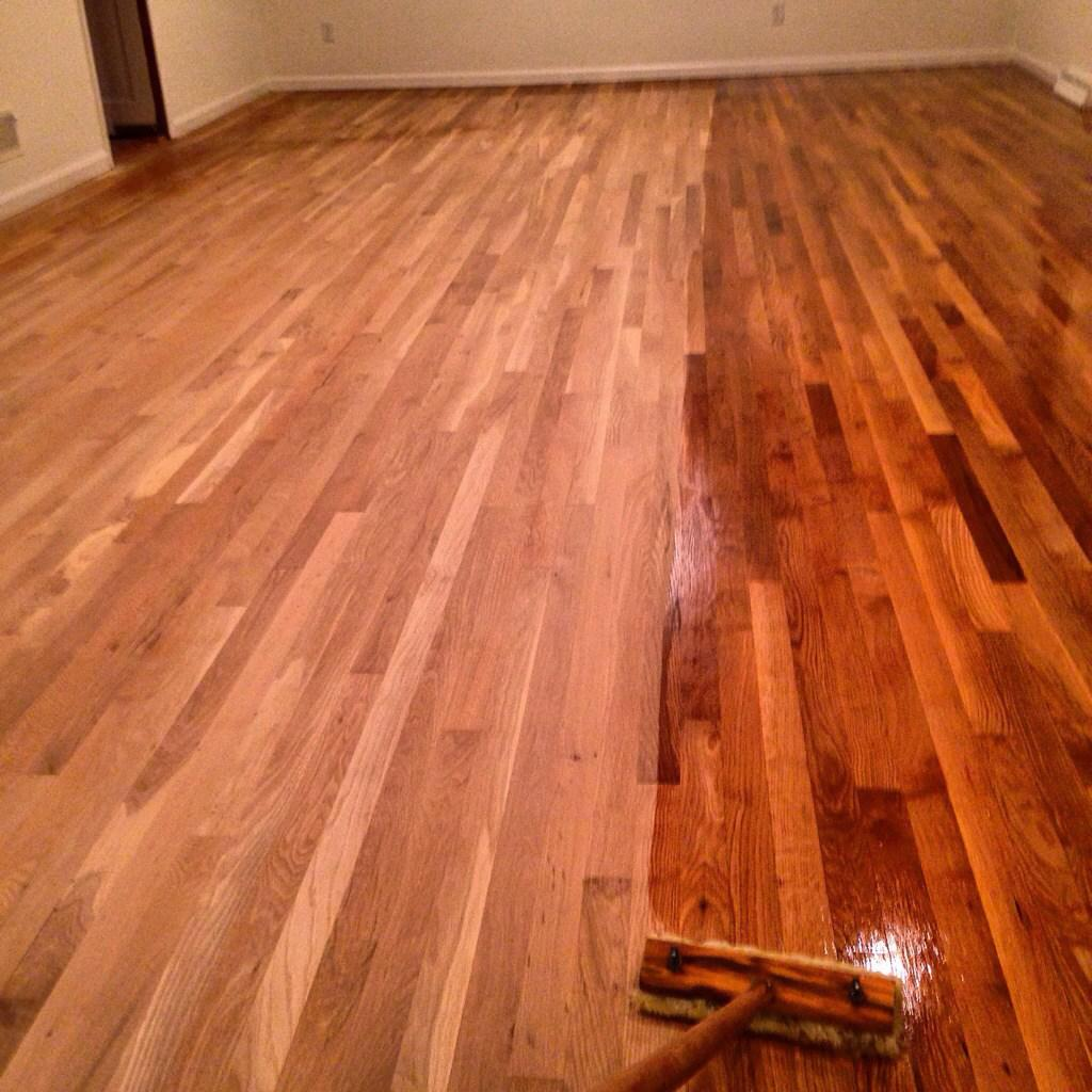 Sand Refinish Maple Hardwood: Hardwood Floor Refinishing Services